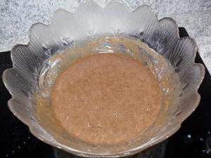 chocolat et farine 300x225 Brownie aux framboises et crème de Chamallows