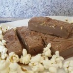 terrine au chocolat et pop corn