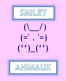 Quand les animaux se transforment en smiley (dico des smileys 2ème partie)