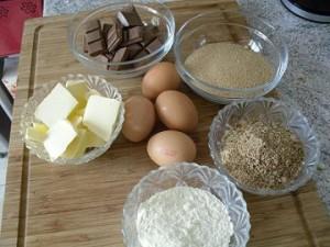 Ingrédients gâteau aux nounours et hérissons