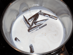 Préparation pommes rôties au Carambar