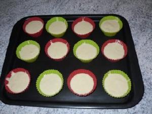 préparation muffins aux michoko