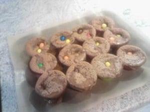 Préparation Muffins aux M&M'S