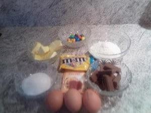 Ingrédients Muffins aux M&M'S