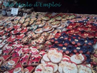 Pains d'épices peints à la main Marché de Noël de Strasbourg