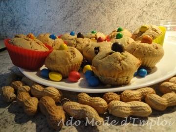 Cacahuète Muffin