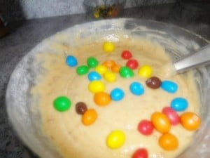 Préparation Cacahuète Muffin