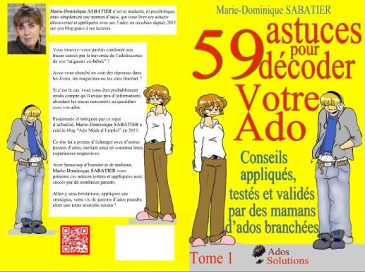 Livre papier : 59 astuces pour décoder votre ado