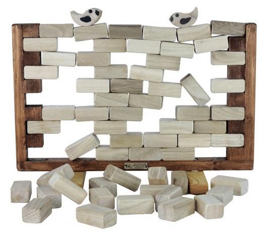 jeux en bois birdy wall